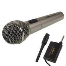 Handheld draadloze / Kabelgebonden microfoon met de ontvanger & antenne  effectieve afstand: 8-20m