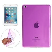 Glad oppervlak TPU Case voor iPad Mini 4 (magenta)