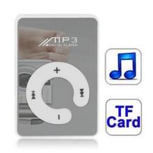 Spiegel MP3-speler met TF kaartslot  Clip(White)