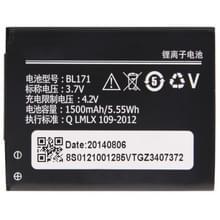 BL171 Oplaadbare Lithium-ion batterij voor Lenovo A60 / A500