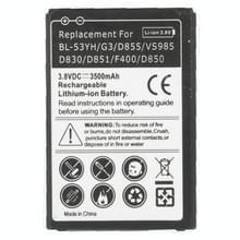 Mobiele telefoonbatterij van de vervanging van de 3500mAh voor LG G3 / D855 / VS985 / D830 / D851 / F400 / D850