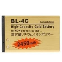 2450mAh BL - 4C High capaciteit gouden Business batterij voor Nokia 1661 / 6260S