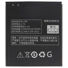 BL208 2250mAh oplaadbare Li-Polymer batterij voor Lenovo S920