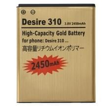 3.8V / 2450mAh oplaadbare Li-Polymer batterij voor HTC Desire 310