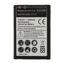 3500mAh oplaadbare vervangende Li-ion accu voor de LG G4 / H818 / BL-51YF