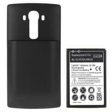 BL-51YH 3.85V / 6500mAh RD hoge capaciteit Li-ion accu en achterdeur kaft vervanging voor LG G4 / H818