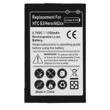 de batterij van de mobiele telefoon van de 1350mAh voor HTC Hero G3