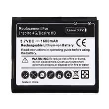 De batterij van de mobiele telefoon voor HTC Desire HD(Black)