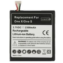 2300mAh interne Replacement Battery for HTC One X / S720e  een S / Z520e
