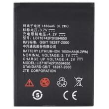 1650mAh Li3716T42P3h594650 hoge Capaciteit Vervanging accu / batterij voor ZTE U807 / U970 / U930 / U795 / U817 / N881E / V970
