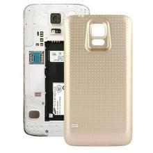Vervangende achterkant / batterij cover voor Samsung Galaxy S5 / G900 mobiele telefoon (goudkleurig)