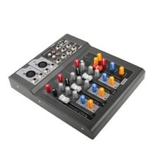 Professional 4 Channel Mixing Console and Aux Paths Plus Effects Processor