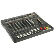 8 Channels Professional Mixing Console and Aux Paths Plus Effects Processor