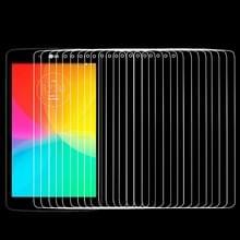 100 stuks voor LG G Tablet 7.0 / V400 0.4mm 9 H + oppervlaktehardheid 2.5D explosieveilige getemperd glas Film