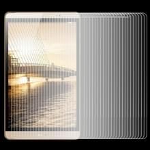 75 pc's 0.4mm 9H oppervlaktehardheid Explosieveilig gehard glas-Film voor Huawei MediaPad M2 8.0