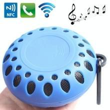 Outdoor sporten draagbare waterdichte Bluetooth luidspreker met Hang gesp  Hands-free bellen  NFC functie  BTS-25OK(Blue)