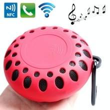 Outdoor sporten draagbare waterdichte Bluetooth luidspreker met Hang gesp  Hands-free bellen  NFC functie  BTS-25OK(Red)