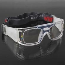 Wrap bril sport bril Eyewear voor basketbal / voetbal spel (blauw)