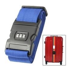 Bagage riem cross riem verstelbare verpakking band riem met wachtwoord slot voor bagage reizen koffer (kleur)