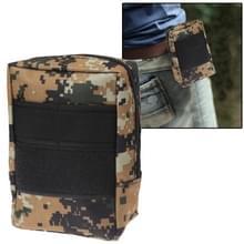 De zak van de taille van 800D waterdichte stoffen voor onderzoek Tools (Camouflage)