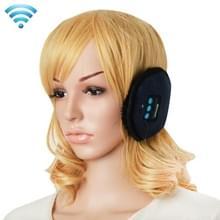 Mijn-Call Bluetooth V3.0 Headset warme Winter Oorkap voor iPhone 6s & 6s Plus  iPhone 6 & 6 Plus / iPhone 5 & 5S / iPhone 4 & 4S en andere Bluetooth-Devices(Dark Blue)