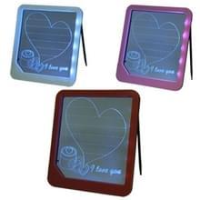 Schrijven teken weer licht LED Message Board  grootte: 225 x 200 x 22 mm (willekeurige kleur levering)
