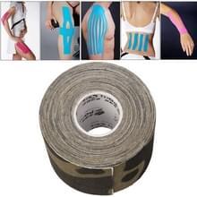 Waterdichte Kinesiologie Tape sport spieren zorg therapeutische Bandage  grootte: 5m(L) x 5cm(W)