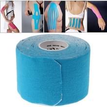 Subsectie waterdichte Kinesiologie Tape sport spieren zorg therapeutische Bandage (2.5 cm x 5m)(Blue)