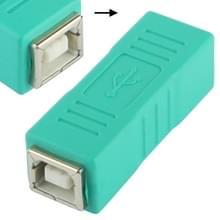 USB 2.0 B vrouwtje naar B vrouwtje Adapter (groen)