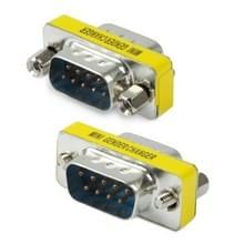 Seriële RS232 DB9 9 Pin mannetje naar mannetje Adapter Converter