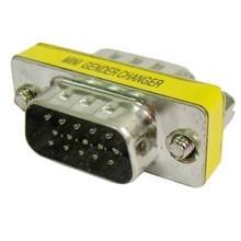 VGA 15Pin mannetje naar VGA 15Pin mannetje adapter