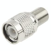 F Female to TNC Male Connector(Silver)