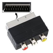 A/V to 20 Pin Male SCART Adapter