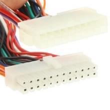 20 Pin mannetje naar 24 Pin vrouwtje Adapter Power verleng kabel  Lengte: 20cm