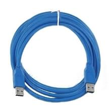USB 3.0 A mannetje naar A mannetje verleng kabel  Lengte: 3 meter