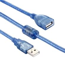 Hoge snelheid USB 2.0 A mannetje naar A vrouwtje verleng kabel  Lengte: 5 meter