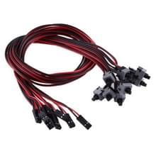 Computer chassis spannings schakelaar kabel