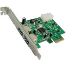 PCI Express naar 2 ports USB 3.0 PCI-adapterkaart