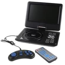 9.5 inch TFT LCD Screen Digital Multimedia Portable DVD with Card Reader & USB Port  Support TV (PAL / NTSC / SECAM) & Game Function  180 Degree Rotation  Support SD / MS / MMC Card