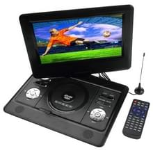 10 inch TFT LCD scherm Digital Multimedia Portable DVD met Card Reader & USB-poort  steun TV (PAL / NTSC / SECAM) & spel functie  180 graden rotatie  steun SD / MS / MMC Card(Black)