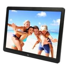15 inch 1280 x 800 16:9 LED Widescreen Suspensibility Digital Photo Frame with Holder & Remote Control  Support SD / MicroSD / MMC / MS / XD / USB Flash Disk(Black)