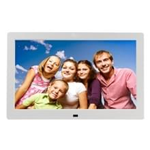 10.1 Inch 1024 x 600 / 16?9 LED Widescreen Suspensibility Digital Photo Frame with Holder & Remote Control  Support SD / MicroSD / MMC / Micro USB / USB Flash Disk(White)