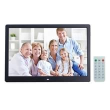 15 inch Digital Picture Frame with Remote Control Support SD / MMC / MS Card and USB   Black
