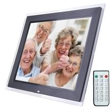 15.0 inch Digital Picture Frame with Remote Control Support SD / MMC / MS Card and USB   Black (1500)(Black)