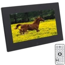 7012B Black  7 inch Digital Picture Frame with Holder & Remote Control Support SD / MMC / MS Card and USB(Black)