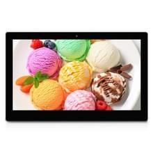 21 5 zwarte  21 5 inch Full HD 1080P Digital Picture Frame met ondersteuning van de houder & afstandsbediening SD / MMC / MS Card en USB(Black)