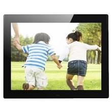 12 1 inch 800 x 600 / 4:3 CCFL scherm Suspendeerbaarheid Digitale fotolijstjes met houder & Remote Control afstandsbediening   steunen SD / MicroSD / MMC / Micro USB / USB Flash Disk(Black)