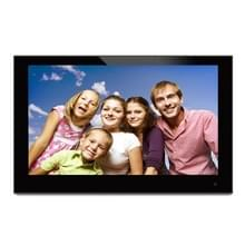 14 inch 1600 x 900 / IPS van de 16:9 breedbeeld Suspendeerbaarheid Digital Photo Frame met houder & Remote Control afstandsbediening   steunen SD / AV / HDMI / USB Flash Disk(Black)