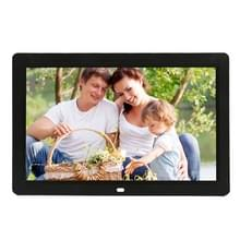 12 inch LED Display Multi-media Digital Photo Frame met houder & muziek & filmspeler  ondersteuning voor USB / SD / Micro SD / MMC / MS / XD kaart Input(Black)