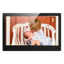 11 6 inch LED Beeldscherm Multi-media Digital Photo Frame met houder & muziek & filmspeler  steun SD / MS / MMC Card & USB & HDMI & AV Input(Black)